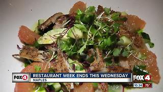 Restaurant Week in Naples Continues