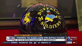 Community honors the oldest living WWII Buffalo Solider