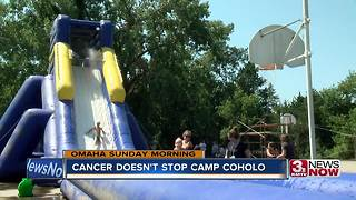 Cancer doesn't stop summer at Camp Coholo - Video