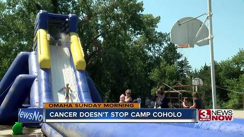Cancer doesn't stop summer at Camp Coholo