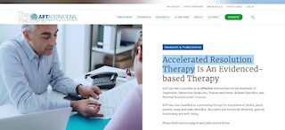 Accelerated Resolution Therapy helping people deal with PTSD
