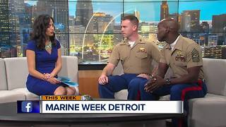 Marine Week Coming to Detroit - Video
