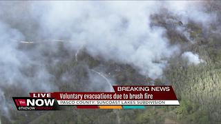 Brush Fires: Voluntary evacuations in Pasco - Video