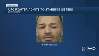 MMA fighter arrested for stabbing