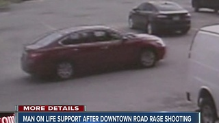 Police: Person injured in road rage shooting near downtown Indianapolis - Video