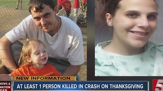 Stranger Helps Victim In Fatal Thanksgiving Crash - Video