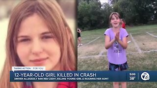 12-year-old Allen Park girl dies in suspected impaired driving crash in Taylor