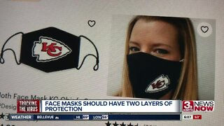 Masks should have two layers