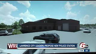 New police station proposed by Lawrence city officials - Video