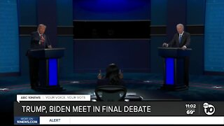 Trump, Biden meet in final debate