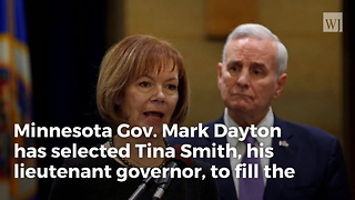 Minnesota Gov. Names Lt. Gov. Tina Smith To Replace Disgraced Al Franken - Video