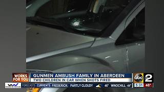 Gunmen target family inside car in Aberdeen - Video