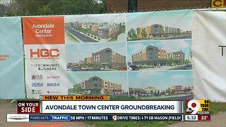 Avondale breaks ground on revitalized town center on Reading Road - Video