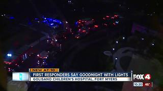 First Responders bringing joy to children at Golisano Children's Hospital - Video