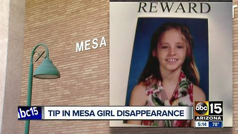 Sister speaks out after Mesa police receives tip in cold case