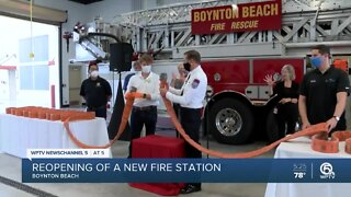 New fire station opens in Boynton Beach