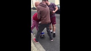 Woman Takes On Hoverboard And Fails
