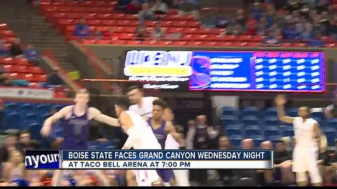 Broncos ready to face Grand Canyon Wednesday