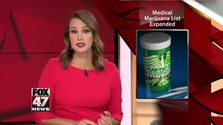 11 new conditions eligible for medical marijuana - Video