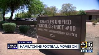 Hamilton HS holds first home game of the season - Video