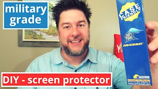 Armorsuit screen protector install and review