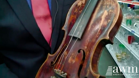Fiddle With 'Acuff' Written On It Is Donated To Goodwill, Causes The Store To Be Shut Down