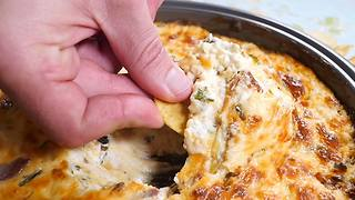 Learn how to easily make Cheesy Bacon Dip! - Video