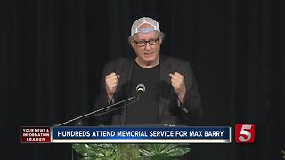 Memorial Service Held For Mayor Barry's Son, Max - Video