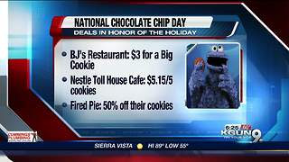 Local deals for National Chocolate Chip Day