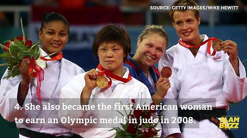 6 facts about record-breaking superstar Ronda Rousey | SlamBuzz