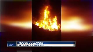 Owners of exploded house just bought it in June - Video