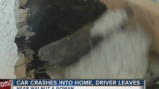 UPDATE: Homeowners talk about car crashing through house - Video