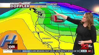 Storm Shield Forecast morning update 2/8/18 - Video