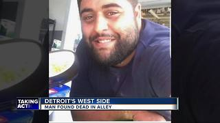 Man found beaten to death in an alley