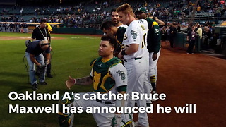 Bruce Maxwell Announces He Will No Longer Kneel For Anthem - Video