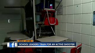 School leaders train on classroom preparedness for active shooter event