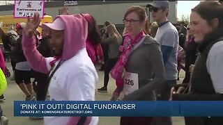Susan G. Komen Greater Detroit launches 'Pink it Out!' digital fundraiser