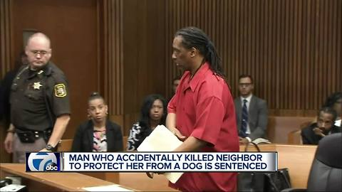 Man who accidentally killed neighbor to protect her from dog sentenced