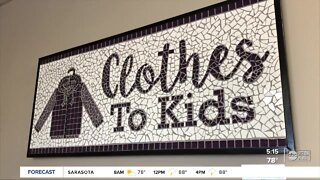 Personal shoppers at Clothes to Kids help families in need with free back-to-school wardrobes