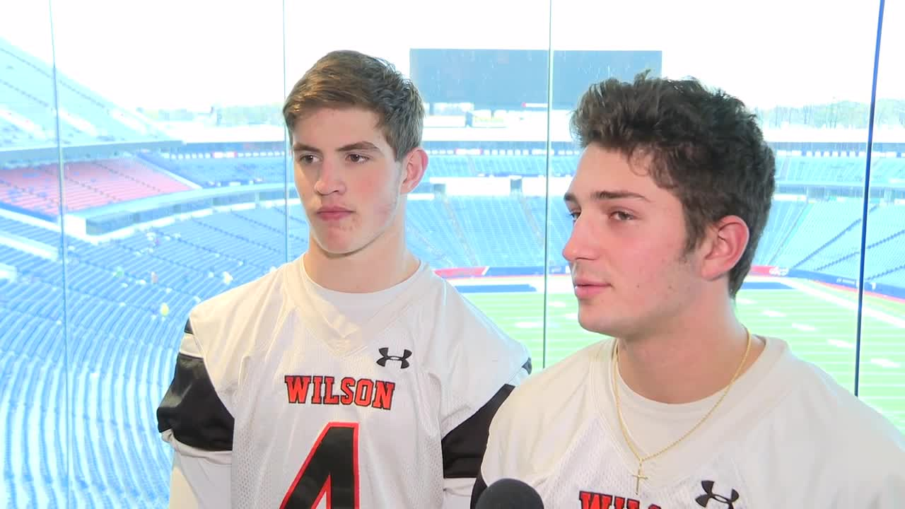 Wilson players ready for section title game against Southwestern
