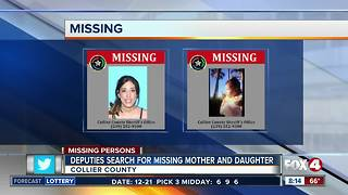 Collier County mom, baby reported missing