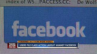 Facebook responds to lawsuit accusing it of mishandling millions of accounts - Video