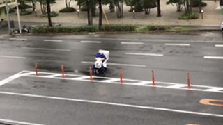 Heroic Pizza Delivery Worker Braves Out Japan's Typhoon Jebi