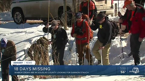 Search for Gannon Stauch continues in southern Douglas County