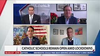 CATHOLIC SCHOOLS REMAIN OPEN AMID LOCKDOWNS