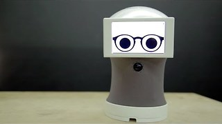 Inventor Builds Adorable Robot That Speaks in GIFs