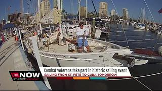 Blind veteran sailing to Cuba in Regatta race - Video