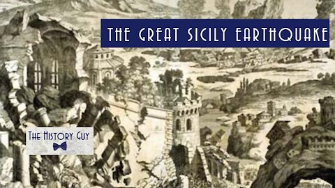 The Great Sicily Earthquake of 1693