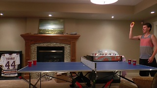 Insane pong trick shots - Video