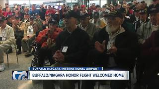 Honor Flight Returns - Video